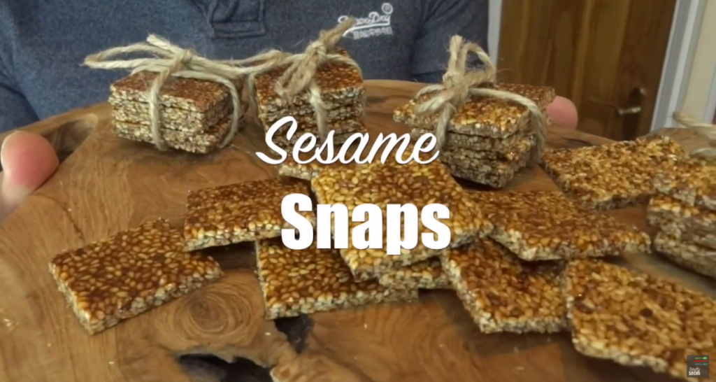 Sesame Snaps Recipe with Honey - SESAME SNAP